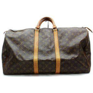 Auth Louis Vuitton Keepall 55 Travel #4092L22